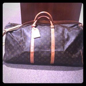 Classic Louis Vuitton duffel bag